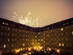 Uudenvuoden juhlintaa Kööpenhaminassa