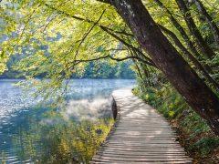 Plitvicen kansallispuisto on Kroatian helmi