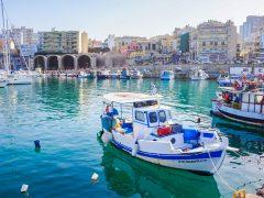 Kreetan pääkaupunki Iraklion - Euroopan rumin kaupunki?