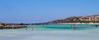 Kreetan paras ranta Elafonisi